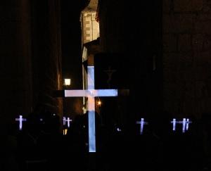Cruz Guía de Jesús Condenado en la Cuesta de la Compañía