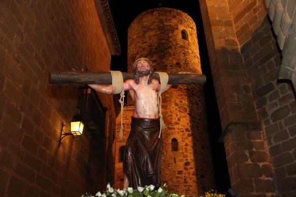 Jesús Condenado saliendo de la calle Amargura
