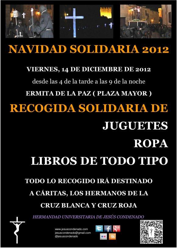 I Navidad Solidaria - Jesús Condenado