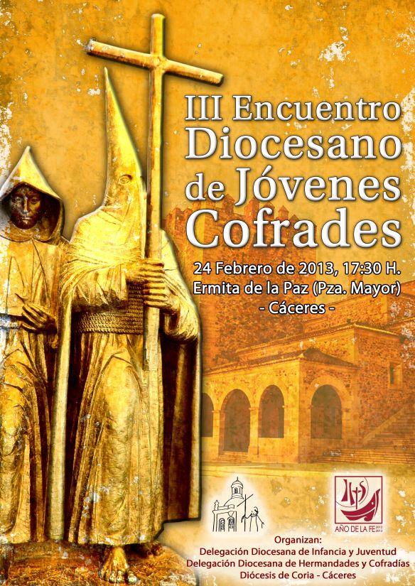 Cartel III Encuentro Diocesano Jóvenes Cofrades