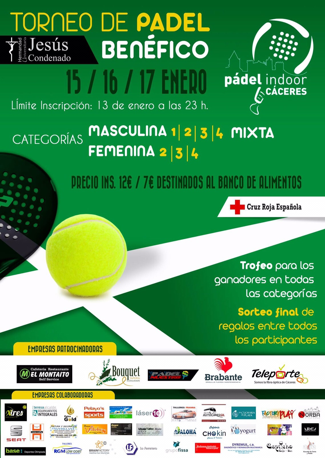 2016 torneo padel HUJC